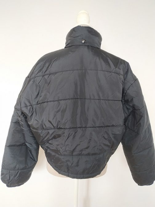 Teddy Smith jacket - back without hood