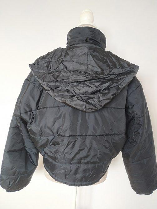 Teddy Smith jacket - back with hood