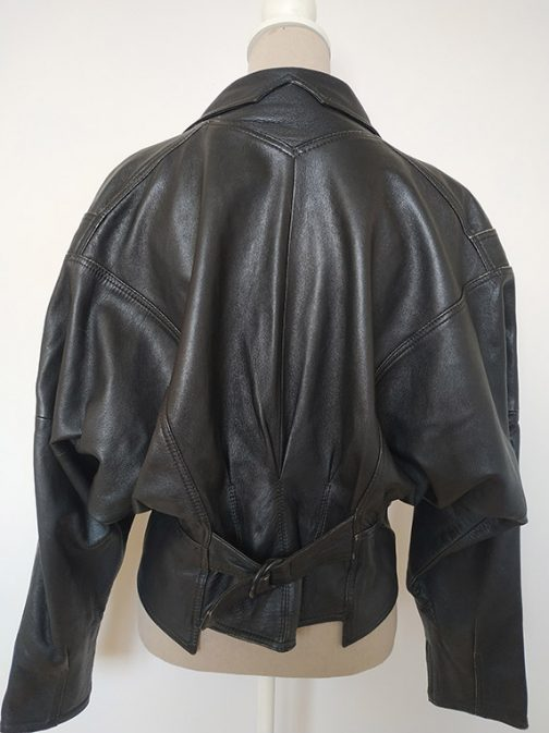 Leather jacket - rear