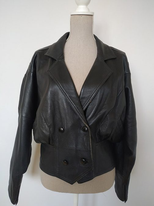 Leather jacket - front