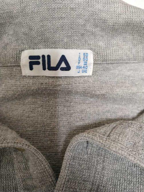 Grey Fila sweater